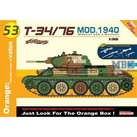 Soviet T-34/76 Mod.1940 + Waffenset