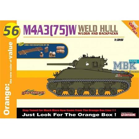M4A3 (75)W Weld Hull