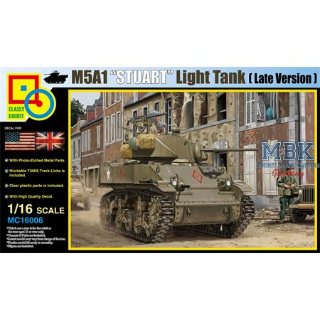 M5A1 Stuart (Late Production)