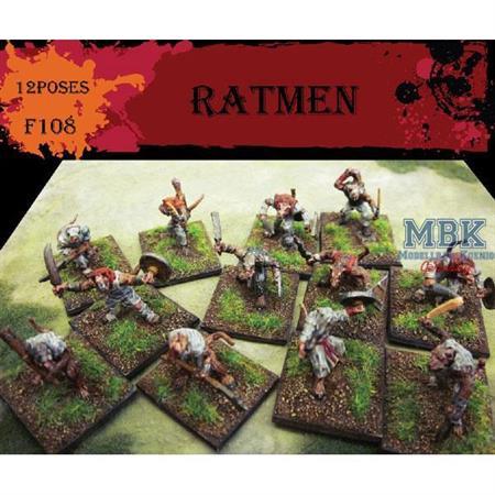 Ratmen Warriors / Rattenmenschen Krieger