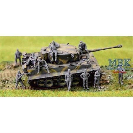 WWII German Panzer Crew