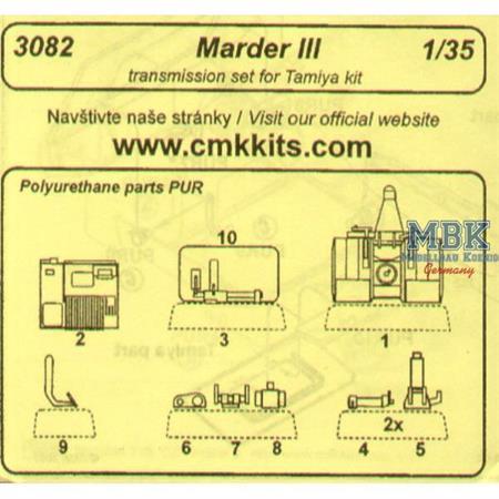 Marder III Transmission Set