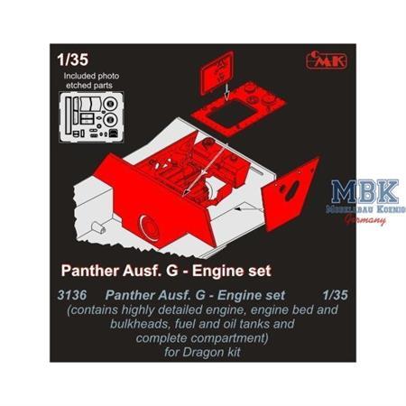 Panther Ausf. G Engine Set