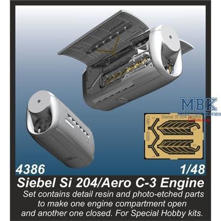 Siebel Si 204/ Aero C-3 Engine
