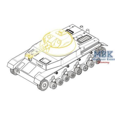Panzer IV Kugelblitz  Umbausatz  / Conversion