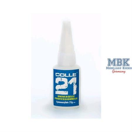 COLLE 21 MIG 21gr. - SLOW DRY CYANOACRYLATE