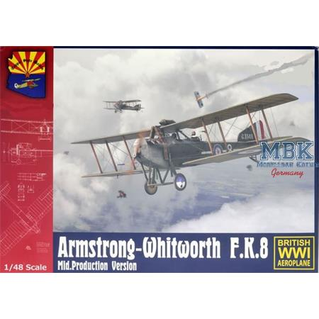 Armstrong-Whitworth F.K.8 Mid. Production