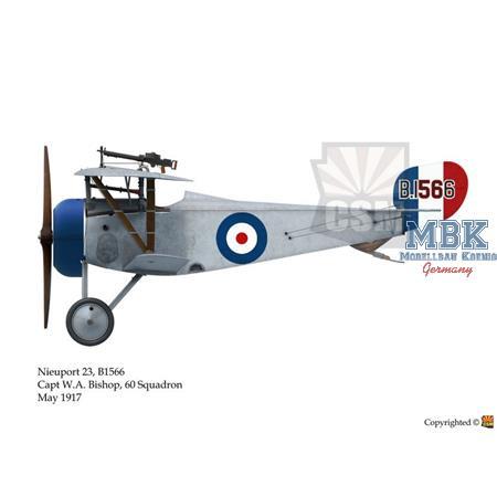 Nieuport XXIII RFC Service