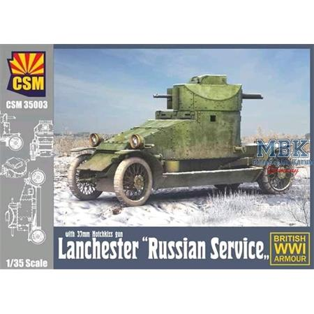 """Lanchester Armoured Car """"Russian Service"""""""