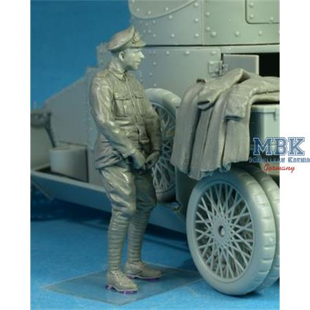 RNAS Armoured Car Division Petty Officer Relief