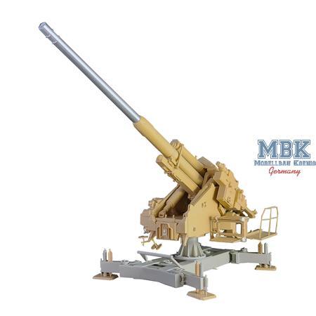 12,8cm Flak 44 vereinfachte Bettung Conversion Kit