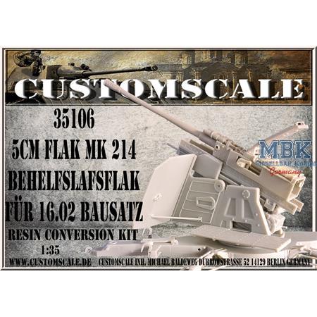 5cm Flak Mk214 Behelfsflak coversion kit