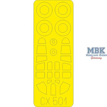 Kittyhawk Mk. Ia 1/72 Masking Tape