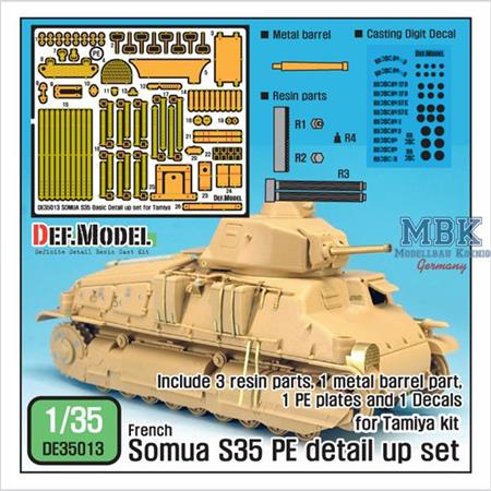 Somua S35 PE Detail up set
