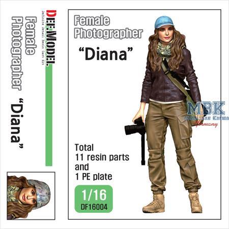 "Female Photographer ""Diana"""