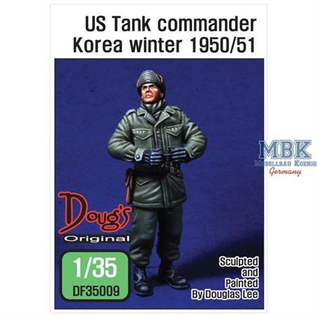 US Tank commander Korea winter 1950/51