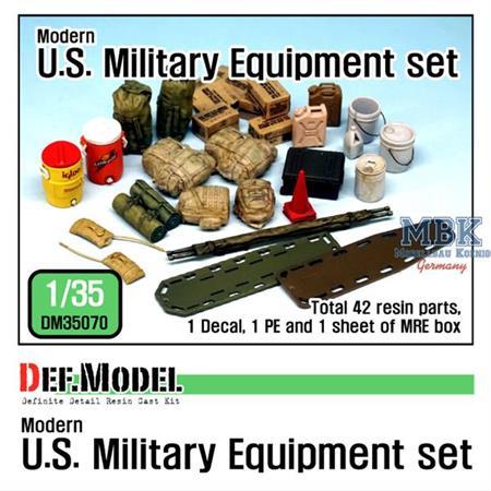 1/35 Modern U.S. military Equipment set