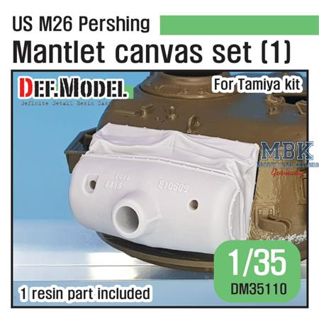 US M26 Pershing Mantlet Canvas cover set