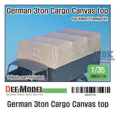 German 3ton Cargo Truck Canvas Top