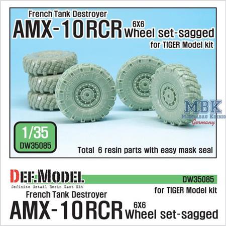 French AMX-10RCR TD Sagged Wheel set