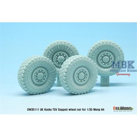 UK Husky TSV Sagged wheel set ( for Meng 1/35)