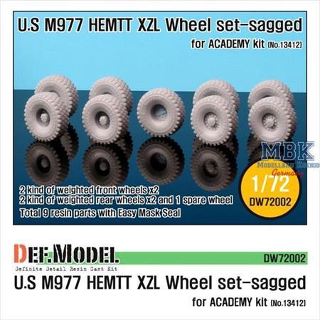 "M977 HEMTT ""XZL"" Sagged Wheel set"