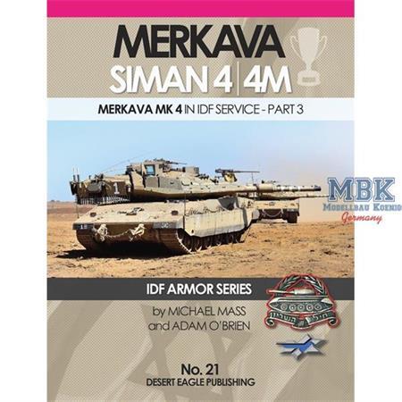 Merkava Siman 4/4M in IDF Service Pt. 3