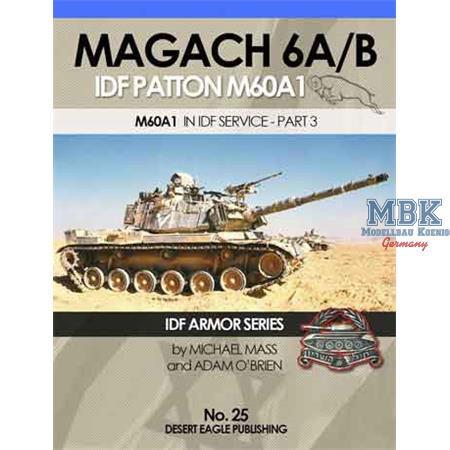 Magach 6 A/B IDF Patton M60A1 pt 3