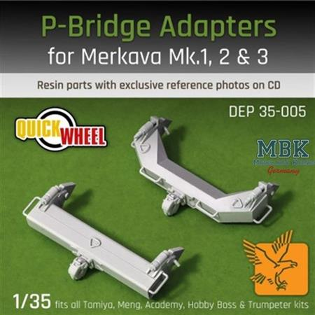 P-Bridge Adapters - Merkava Mk I , II , III