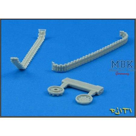 Resin track set for WIESEL1