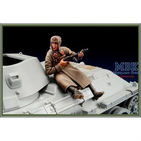 Russian Winter Tank Rider