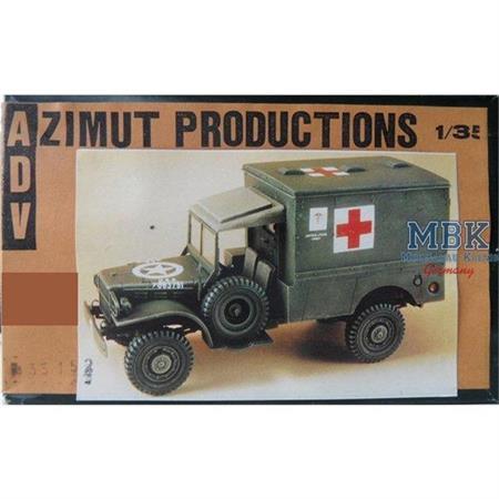 Dodge KD Ambulance Conversion