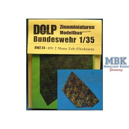 BW 2 Mann Zelt (Flecktarn)