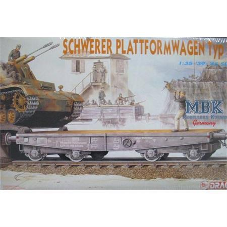 Schwerer Plattformwagen Typ ssy