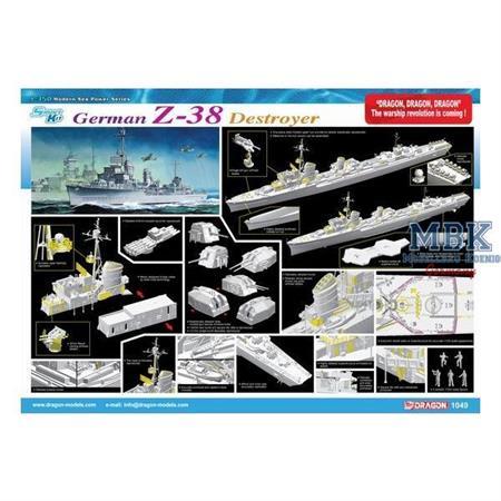 German Z-38 Zerstörer - Smart Kit
