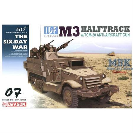 IDF M3 Halftrack w/TCM-20 Anti-Aircraft Gun