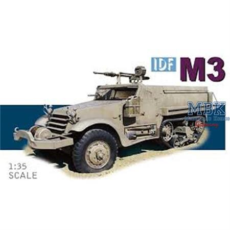 IDF M3 Halftrack w/ HS30 20mm cannon Six day war