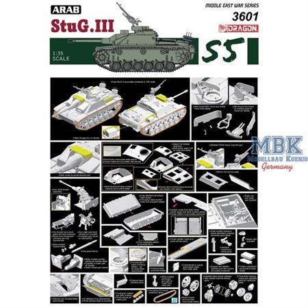 Arabisches StuG III Ausf G       6 day war