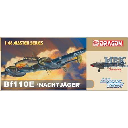 Bf110E Nachtjäger   1/48