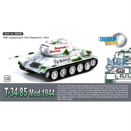 T-34/85 38th Independent Tank Regim. 1945