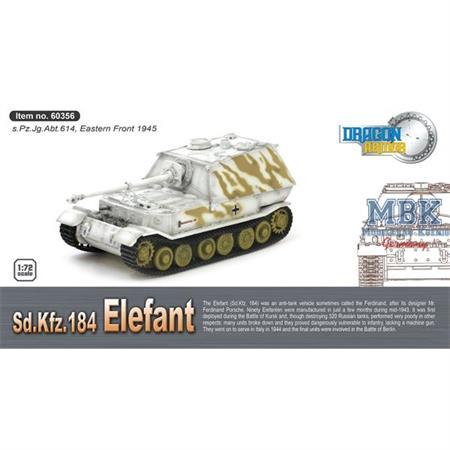 Sd Kfz 184 Elefant s.Pz. Jg. Abt. 614 Poland