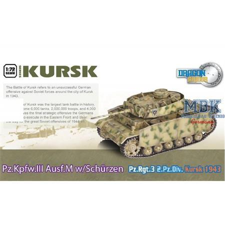 Pz. Kwpf. III Ausf. M w/ Schürzen PzRgt 3 Kursk