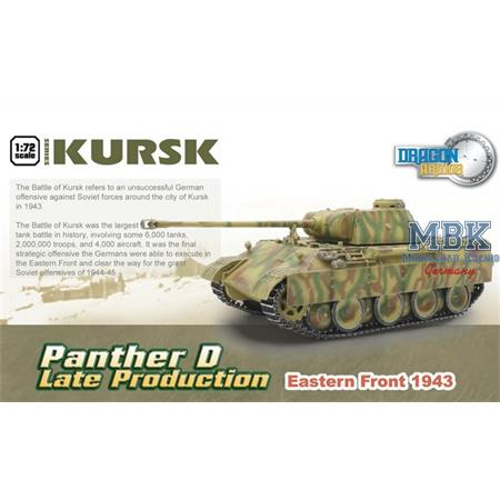 Panther Ausf.D late Production Ostfront 1943