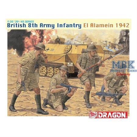 British 8th Army Infantry, El Alamein 1942