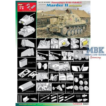 Sd.Kfz.131 - Marder II Mid Production ~ Smart Kit