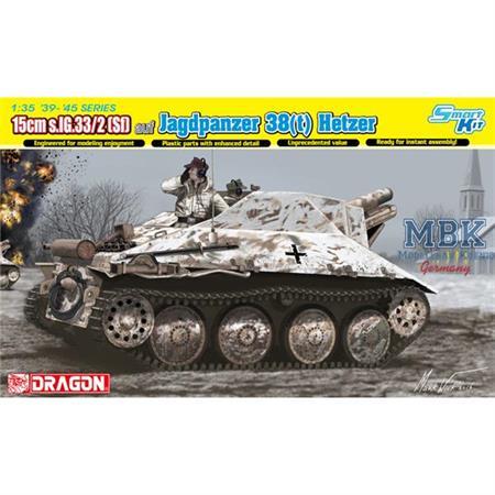 15cm s.IG.33/2 (Sf) auf Jagdpanzer 38(t) Hetzer