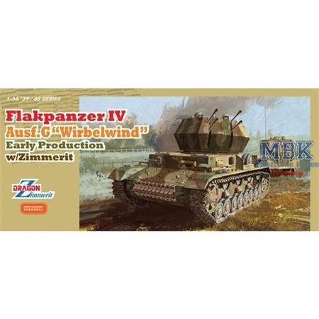"Flakpanzer IV Ausf.G ""Wirbelwind"" early w/Zimmerit"