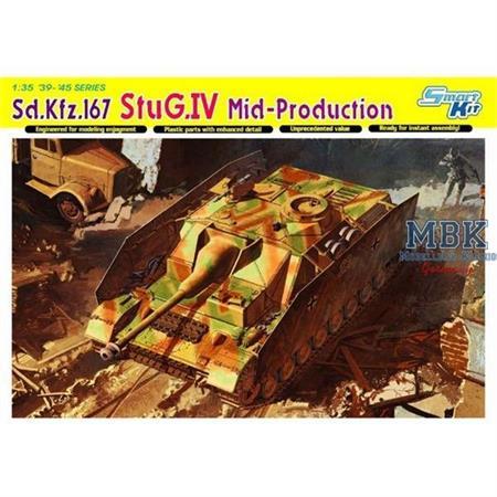Sd.Kfz.167 StuG.IV Mid-Production - Smart Kit