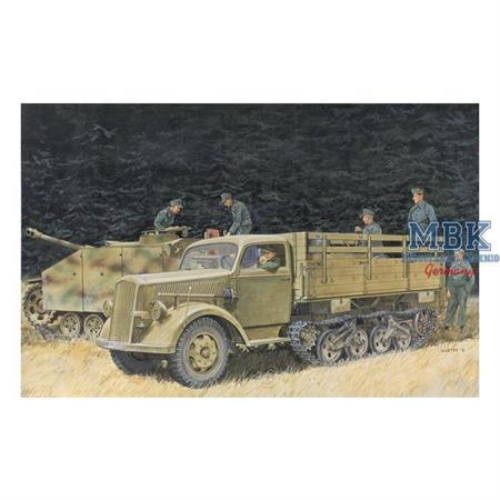 "German Half-Track Truck ""Maultier"" ~ Smart Kit"