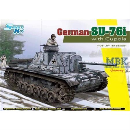 German SU-76i with Cupola